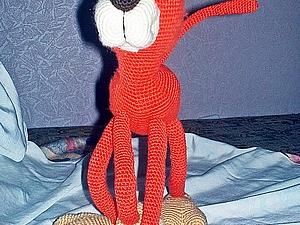Симпотяга рыжий кот. Ярмарка Мастеров - ручная работа, handmade.