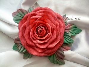 Короткое видео по обработке лепестков роз из ткани с помощью инструментов. | Ярмарка Мастеров - ручная работа, handmade