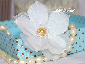 Блиц мастер-класс по созданию украшения для прически невесты. Ярмарка Мастеров - ручная работа, handmade.
