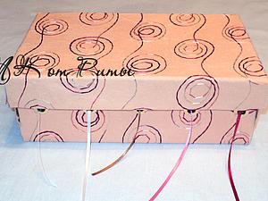 Коробка для хранения лент. Ярмарка Мастеров - ручная работа, handmade.