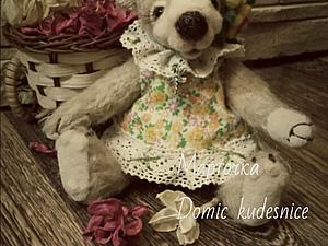 Весенняя мишка Марточка   Ярмарка Мастеров - ручная работа, handmade