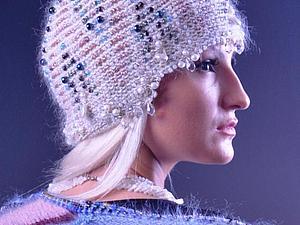 Вяжем оригинальную шапочку с орнаментом. Ярмарка Мастеров - ручная работа, handmade.