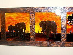 Интерьерная картина   Ярмарка Мастеров - ручная работа, handmade