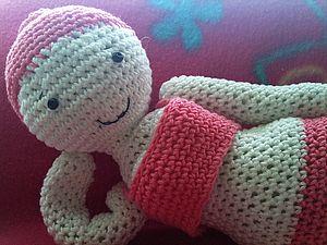 Вязаная кукла Мила: мастер-класс. Ярмарка Мастеров - ручная работа, handmade.