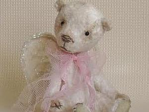 Мастер-класс по созданию мишки-ангела | Ярмарка Мастеров - ручная работа, handmade