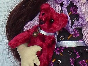 Шьем плюшевого мишку для любимой куклы. Ярмарка Мастеров - ручная работа, handmade.