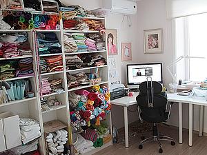 Мой кабинет III. Здесь рождаются игрушки. Ярмарка Мастеров - ручная работа, handmade.