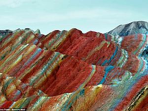 Цветные горы в Китае | Ярмарка Мастеров - ручная работа, handmade