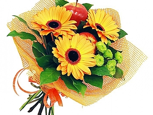 Цветы к 1 сентября фото