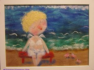 Шерстяная акварель НЕ ВАЛЯНИЕ! Екатерины Буянковой - создаем картину