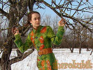 Необходимые этапы психологической подготовки к валянию пальто. | Ярмарка Мастеров - ручная работа, handmade