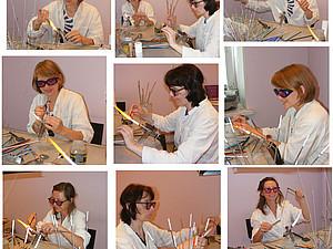 Обучение лэмпворк. 2-е базовое занятие | Ярмарка Мастеров - ручная работа, handmade