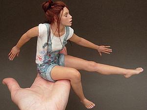 Миг, застывший в куклах Renata Jansen и Lisa Lichtenfels | Ярмарка Мастеров - ручная работа, handmade