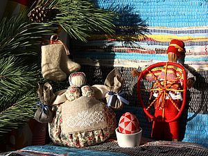 Основы народных ремесел. Подарки к зимним праздникам | Ярмарка Мастеров - ручная работа, handmade