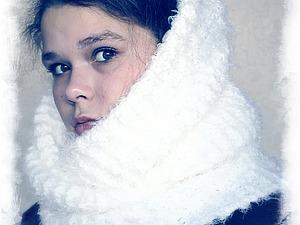 Навеяно классикой - пуховый платок!!!   Ярмарка Мастеров - ручная работа, handmade