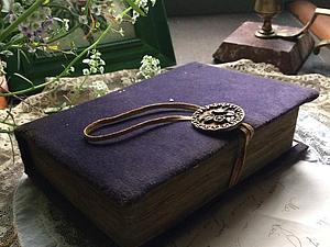 Состаренный блокнот-малютка | Ярмарка Мастеров - ручная работа, handmade