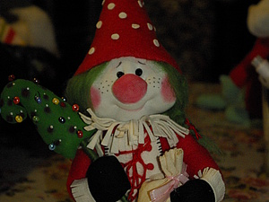«Мухоморочка»: забавная кукла из подручных средств. Ярмарка Мастеров - ручная работа, handmade.