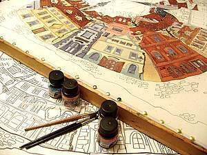 Мастер-классы батика для всех желающих в рамках Петербургского батик-форума   Ярмарка Мастеров - ручная работа, handmade