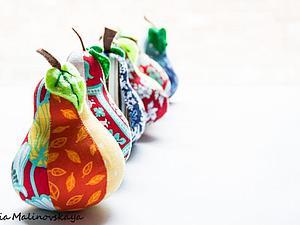 Шьем игольницу-грушу | Ярмарка Мастеров - ручная работа, handmade
