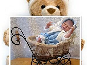 Малышок Вовочка-куклы реборн Инны Богдановой. | Ярмарка Мастеров - ручная работа, handmade