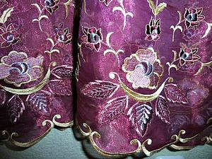 Отдам  платье с накидочкой из органзы ( с вышивкой) | Ярмарка Мастеров - ручная работа, handmade