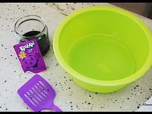 Крашение валяного шарфа пищевыми красителями за 15 минут ! | Ярмарка Мастеров - ручная работа, handmade