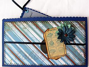 Мастерим подарочный конверт для денег. Ярмарка Мастеров - ручная работа, handmade.
