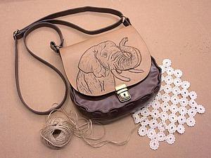 Мастеркласс сумка из кожи