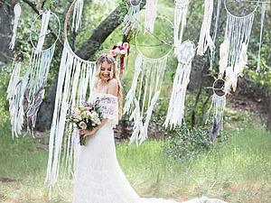 Ловцы снов в оформлении свадьбы. Ярмарка Мастеров - ручная работа, handmade.