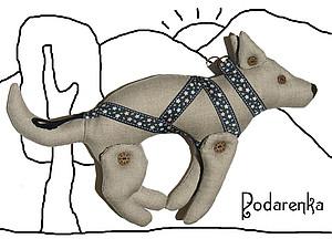 Текстильные ездовые собачки | Ярмарка Мастеров - ручная работа, handmade