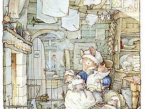 Джилл Барклем и ее мышки | Ярмарка Мастеров - ручная работа, handmade