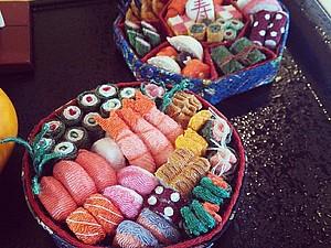 Chirimen crafts - маленькие японские игрушки handmade, handmade