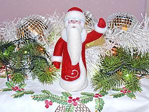 Валяем Дедушку Мороза!!! Двухдневный МК (13,27 декабря, две субботы)   Ярмарка Мастеров - ручная работа, handmade
