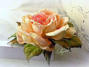 Анонс МК - Роскошная  Роза из фоамирана | Ярмарка Мастеров - ручная работа, handmade