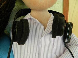 Наушники для куклы. Ярмарка Мастеров - ручная работа, handmade.