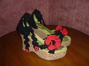Новая жизнь старой обуви.. Ярмарка Мастеров - ручная работа, handmade.