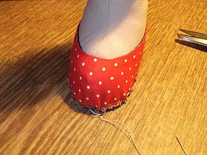 Мастерим туфли для куколки. Ярмарка Мастеров - ручная работа, handmade.