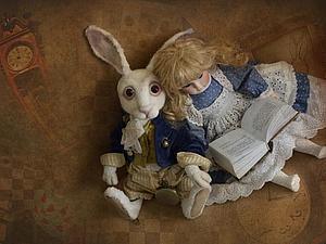 В погоне за Белым Кроликом | Ярмарка Мастеров - ручная работа, handmade
