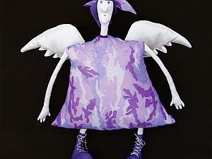 Шьем куколку-ангела «Защитник хорошего настроения» | Ярмарка Мастеров - ручная работа, handmade