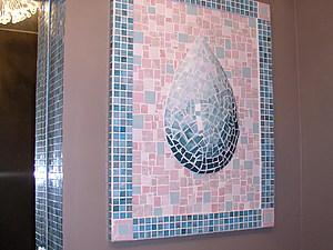 """Декор на стену """"Мозаичная Капля"""". Ярмарка Мастеров - ручная работа, handmade."""