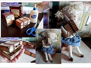 Делаем чемоданчик из коробочки от чая. Ярмарка Мастеров - ручная работа, handmade.