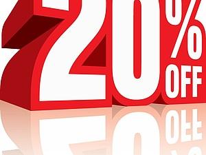 Скидка 20 % на все готовые изделия !!! | Ярмарка Мастеров - ручная работа, handmade