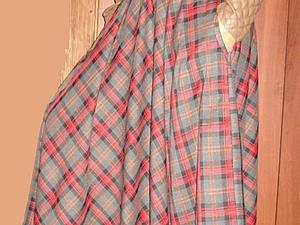 Акция октября: скидка 10% + бесплатная доставка на юбку в клетку | Ярмарка Мастеров - ручная работа, handmade