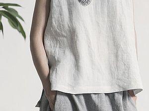 и опять эко стиль в одежде... | Ярмарка Мастеров - ручная работа, handmade