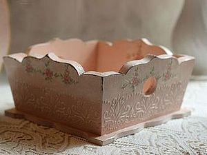 МК от Парамоновой Елены по созданию нежной конфетницы с объемным декором! | Ярмарка Мастеров - ручная работа, handmade