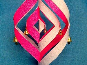 Из фетра: Новогодняя игрушка-Завиток. Ярмарка Мастеров - ручная работа, handmade.