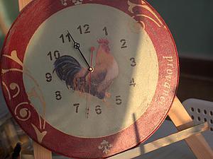 Интерьерные часы в стиле Прованс   Ярмарка Мастеров - ручная работа, handmade