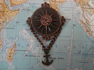 Неделя Морской Романтики (23.02- 1.03).Брошь