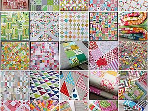 Лоскутная геометрия.  Проекты для начинающих! | Ярмарка Мастеров - ручная работа, handmade