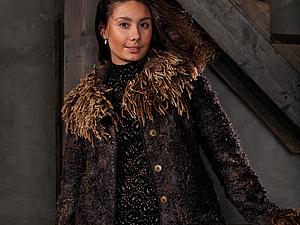 Куртка или короткое пальто из флиса | Ярмарка Мастеров - ручная работа, handmade